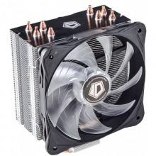 Cooler CPU ID-Cooling SE-214L-W LED Alb, Ventilator 130mm, 4x Heatpipe-uri cupru, MultiSocket