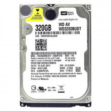 Hard disk Laptop 320GB Western Digital WD3200BUDT, Buffer 32MB, SATA II, 5400 rpm