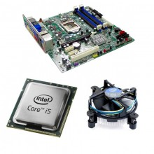 Kit Placa de baza Acer Q65H2-AM, DDR3, Intel Core i5-2400 3.1GHz, 4 nuclee, Cooler Intel Stock