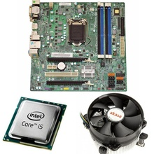 KIT Placa de baza Acer Q77H2-AM, LGA1155, Intel i5-3470 3.2GHz, 4 nuclee, Cooler procesor Akasa