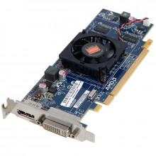 Placa video ATI Radeon HD 7450, 1GB DDR3 64-bit, DVI, DisplayPort, PCI-Ex, Low Profile