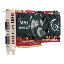 Placa video MSI GeForce 9800 GTX+, 512MB DDR3 256-bit, 2x DVI, 2x 6-pin