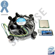 Procesor Intel Core 2 Quad Q8200, 2.33GHz, Socket LGA775, FSB 1333 MHz, 4MB Cache + Cooler Intel + Plic pasta