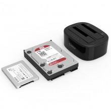 "Rack extern HDD/SSD Orico 6228US3-C PRO 2x 2.5/3.5"", USB 3.0, docking station"