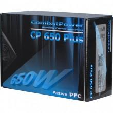 Sursa Inter-Tech 650W Combat Power Plus, 4x SATA, 4x Molex, 1x 6+2 PCI-E, PFC Activ, 80+