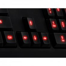 Tastatura Gaming Tt eSPORTS Challenger, iluminare LED, USB