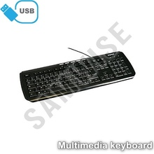 Tastatura Port Designs Multimedia, USB, Taste Multimedia, Control Volum