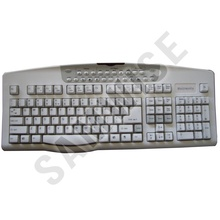 Tastatura Turbo-Media Multimedia, PS2, alba