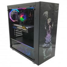 Calculator Gaming SteelJaw, Intel Core i5 9400F 2.9GHz, GA-H310M DS2, 16GB DDR4, SSD 480GB, 1TB, Sapphire RX 580 NITRO+ 4GB GDDR5 256-bit, DVI, HDMI, 500W