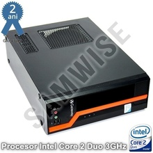 Calculator Incomplet GATEWAY DS10G SFF + Procesor Intel Core 2 Duo E8400 3GHz, DDR3, GMA X4500, DVI