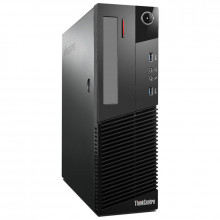 Calculator Lenovo M83 DT, Intel Core i3 4130 3.4GHz, 8GB DDR3, 250GB, USB 3.0