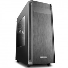Carcasa Gaming Deepcool D-Shield V2, MiddleTower, USB 3.0, Panou transparent