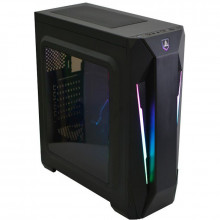Carcasa Gaming Segotep Halo 8, USB 3.0, Panou Transparent, MiddleTower