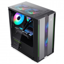 Carcasa Gaming Segotep Prime G, USB 3.0, Panou Transparent