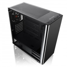 Carcasa Gaming Thermaltake V200 Tempered Glass, USB 3.0, Panou transparent, MiddleTower, Vent. 120mm