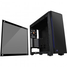 Carcasa Gaming Thermaltake Versa C23 Tempered Glass RGB Edition, USB 3.0, Panou transparent, MiddleTower, Vent. 120mm