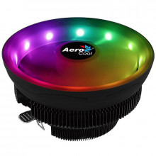 Cooler CPU Aerocool Core Plus RGB, 120mm, iluminare LED RGB