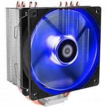 Cooler CPU ID-Cooling SE-224M Blue, Iluminare LED