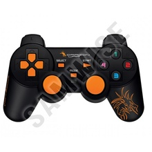GamePad Gaming Dragon War, G-PC-002, Dual Shock, negru