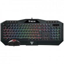 Kit Gaming Gamdias Ares M1 2 in 1, Iluminare RGB