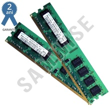 KIT Memorie 2 x 1GB Samsung DDR2 667MHz PC-2 5300