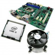 Kit Placa de baza Acer H81H3-AM, Intel Core i5 4460 3.2GHz, 4 nuclee, 8GB DDR3, Cooler inclus