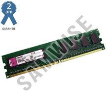 Memorie 1GB DDR2 667MHz, PC2-5300, KINGSTON, pentru calculator, desktop