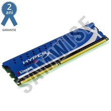 Memorie 4GB Kingston DDR3 1333MHz HyperX, CL9, 1.5V