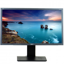 """Monitor 24"""" LCD Acer B243H, Grad A, 1920 x 1080, 2ms, VGA, DVI, Cabluri Incluse"""