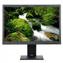 """Monitor LCD 22"""" Lenovo ThinkVision L2250pwD, Grad A, 1650x1050, 5ms, VGA, DVI, Cabluri incluse"""