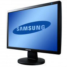 """Monitor LCD Samsung SyncMaster 2243BW 22"""" Wide, Grad A, 1680x1050, 5ms, VGA, DVI, Cabluri Incluse"""