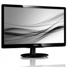 """Monitor LED 18.5"""" Philips 196V4LAB2, Grad A, 5ms, 1366x768, VGA, DVI, Cabluri incluse"""