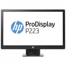 "Monitor LED 21.5"" HP P223, 1920x1080, 5ms, VGA, DisplayPort, Cabluri incluse"