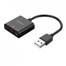 Placa de sunet Orico SKT3, USB, 2x Audio Out (TRS&TRRS), 1x Mic