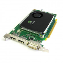Placa video nVidia Quadro FX 580 512MB DDR3 128-Bit, 2x DisplayPort, DVI