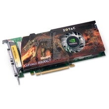 Placa video Zotac GeForce 8800GT 512MB DDR3 256-bit Dual DVI