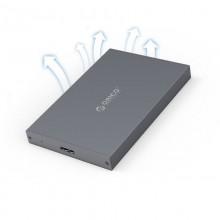 "Rack Orico 2789U3, compatibil HDD/SSD 2.5"" SATA, USB 3.0, Argintiu/Albastru slicon"