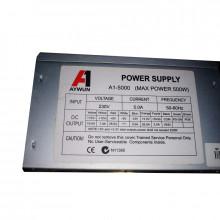 Sursa AYWUN 500W A1-5000, 4x SATA, 4x Molex, 1x 6-pin, Vent. 120mm