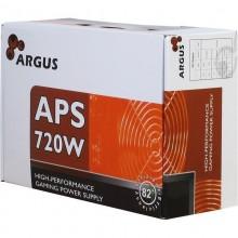 Sursa Inter-Tech Argus 720W, 4x SATA, 2x 6+2 PCI-E, 4x Molex, Vent 120 mm, PFC Activ