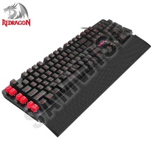 Tastatura Gaming Redragon Yaksa Black K505-BK, Iluminare LED
