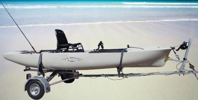 Elegir el carro de transporte de kayaks adecuado