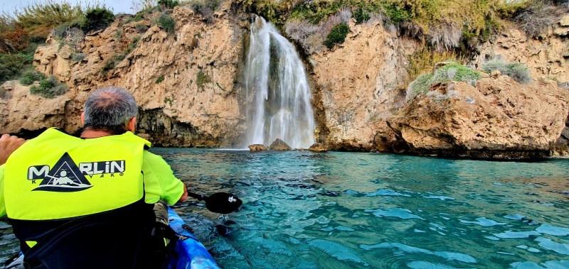 Rutas en kayak en la Costa Tropical