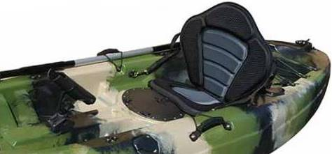 Silla elevada o asiento bajo marlin kayak for Sillas para kayak