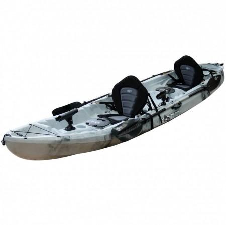 Kayak doble Marlin catamaran 2+1 pesca