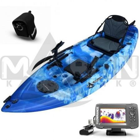 Kayak Marlin Tuna plus 1+1 + Sonda 2 5x + Bateria Powerymax