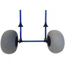 Carro para kayaks con ruedas de globo en H