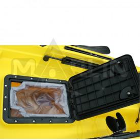 Dos kayaks de pesca Marlin Tuna en catamarán