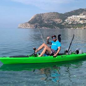 kayak pedales hélice marlin