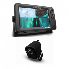 Sonda Lowrance HOOK Reveal 9 Tripleshot, GPS, Plotter y PoweryMax Ready