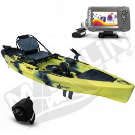 kayak de pedales con sonda marlin